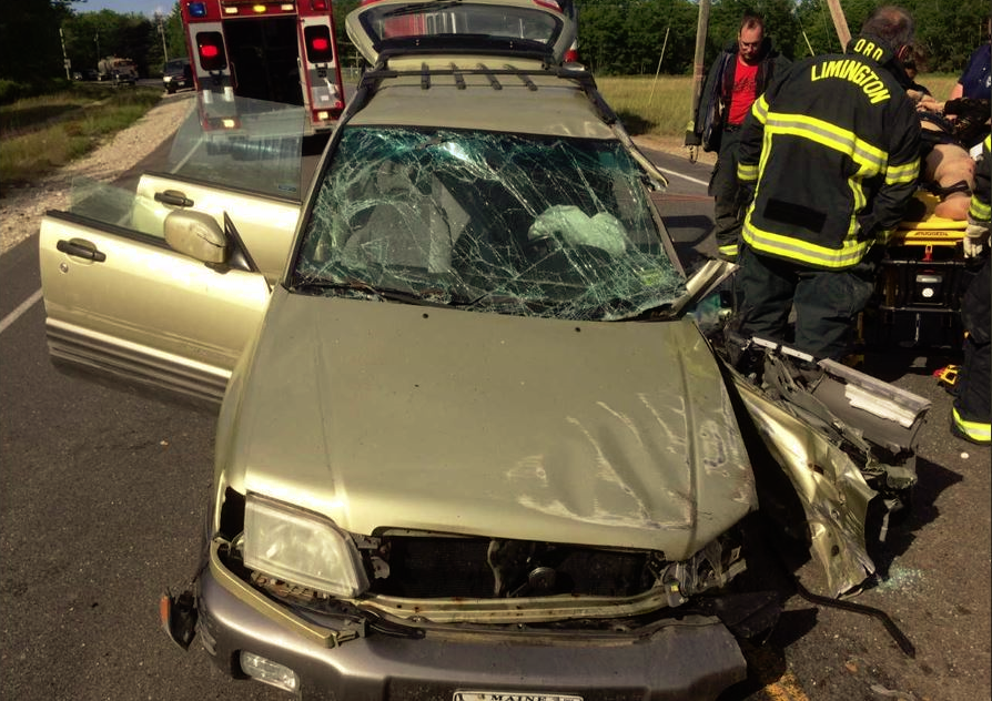 Two sustain injuries in head-on crash in Limington | Journal