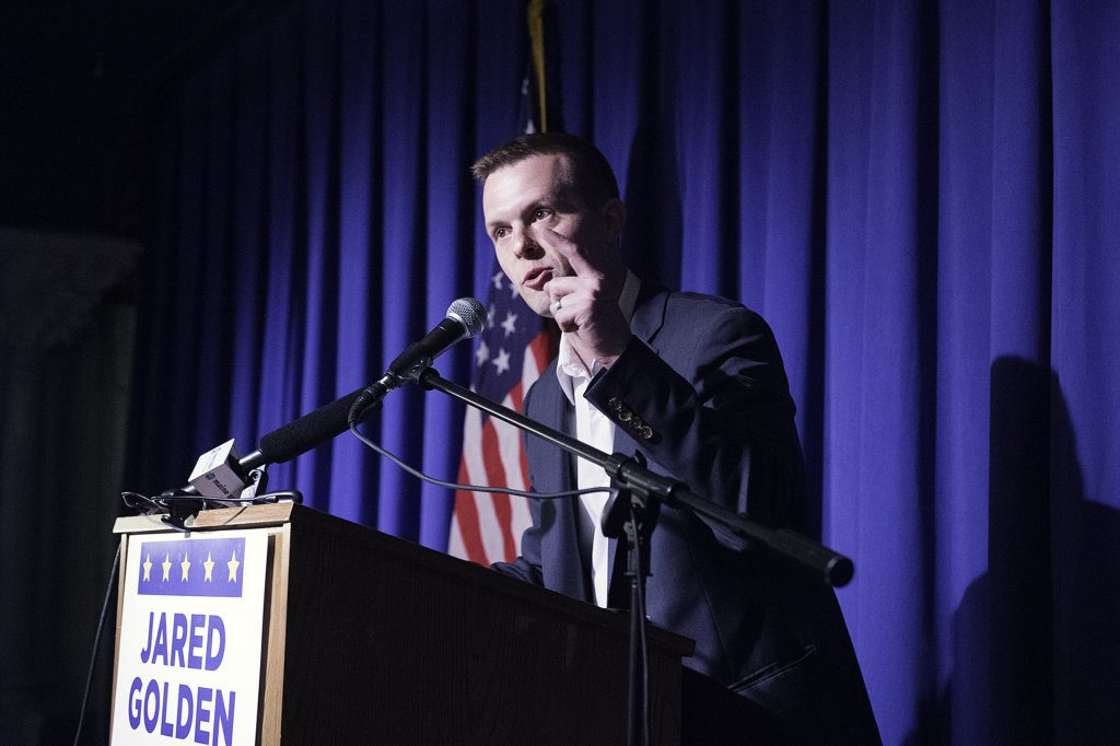 Jared Golden has won the Democratic nomination as the 2nd Congressional District candidate. He will challenge incumbent U.S. Rep. Bruce Poliquin.