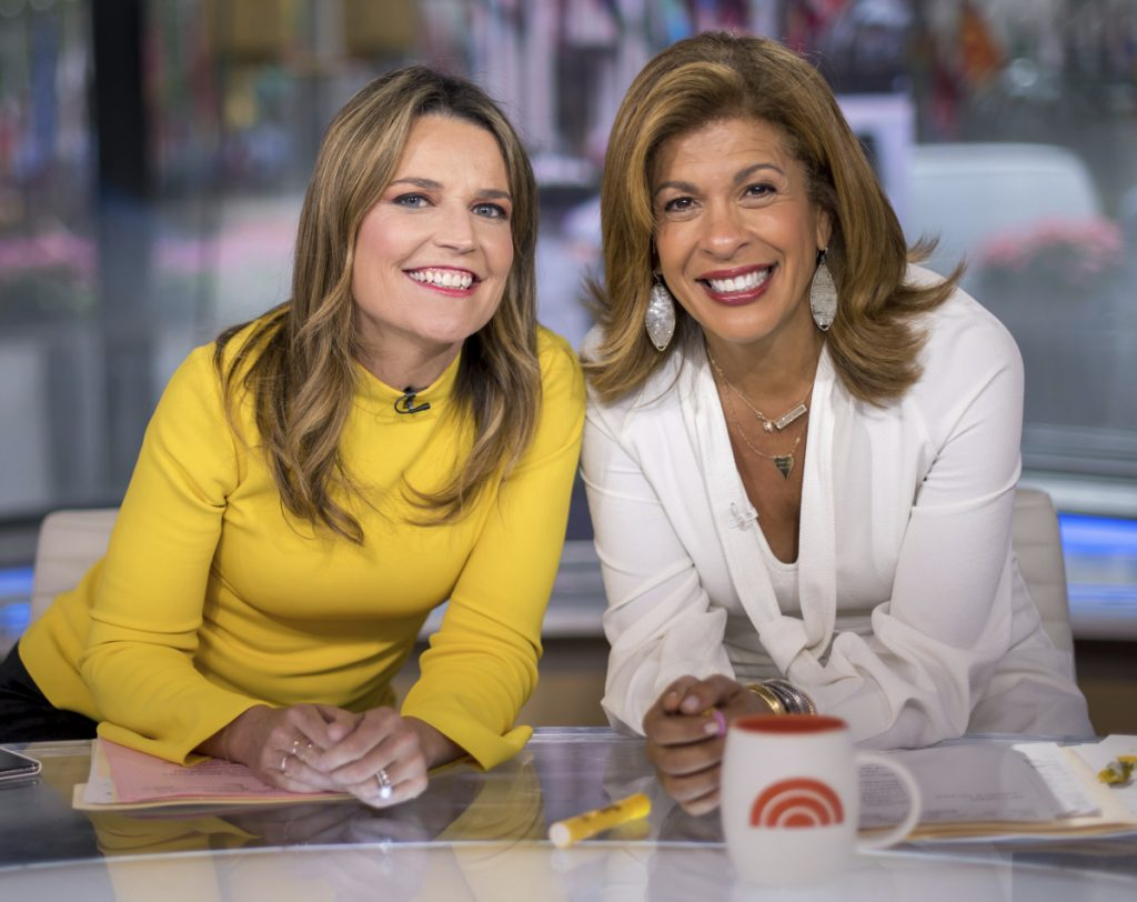 "The ""Today"" show is marking six months with its new team of Savannah Guthrie, left, and Hoda Kotb, a pairing made necessary by Matt Lauer's firing on sexual misconduct charges."