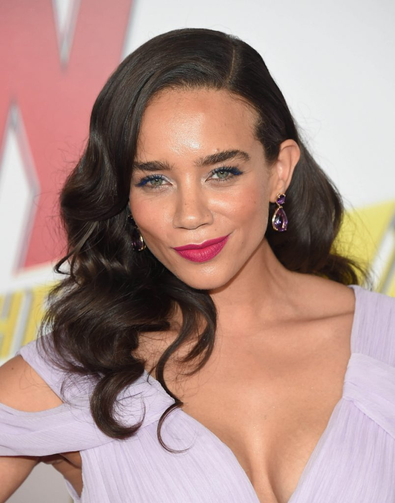 Hannah John-Kamen, who stars as Ghost/Ava, at the premiere of ''Ant-Man and The Wasp'' in Los Angeles on June 25.