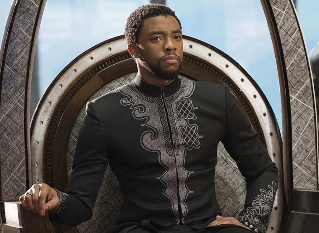 """No superhero movie has ever been nominated for a best picture Oscar. """"Black Panther,"""" starring Chadwick Boseman, may put an end to that streak."""
