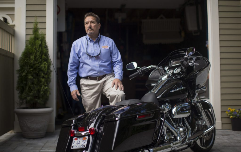 'Everybody who ever bought a Harley voted for Trump'