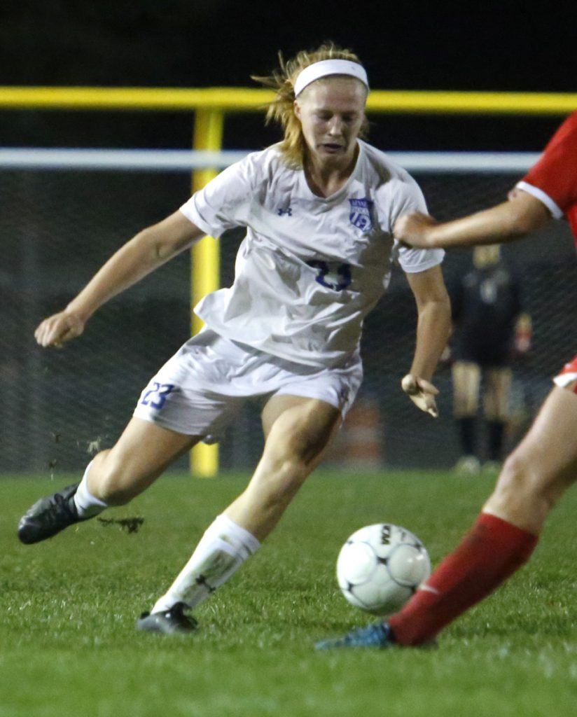 Emily Archibald made an immediate impact in her first varsity sports season, helping Kennebunk reach the Class A South soccer final.