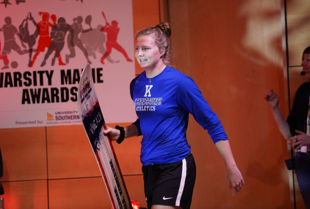 PORTLAND, ME - JUNE 26: FAB FRESHMAN: Emily Archibald of Kennebunk during the Varsity Maine Awards Tuesday June 26, 2018. (Staff photo by Shawn Patrick Ouellette/Staff Photographer)