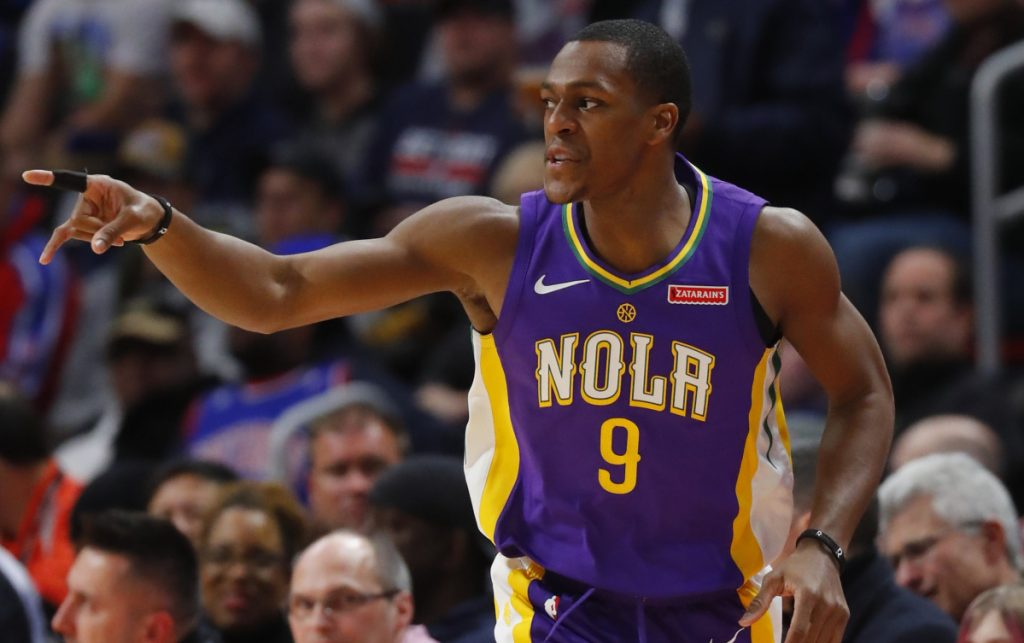 Rajon Rondo has had many battles with LeBron James, especially when Rondo was the Celtics' guard. Now, the pair will be teammates after Rondo agreed to join the Lakers.