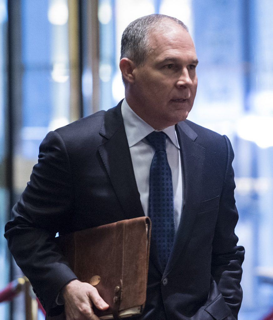 Scott Pruitt resigns -- July 5, 2018 at 3:50 PM