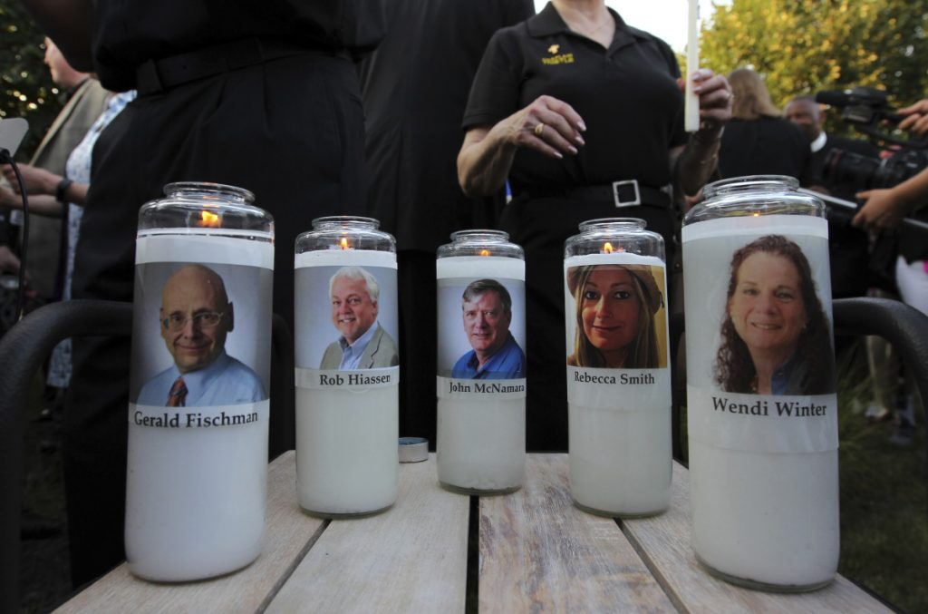 No law prevented the purchase of the gun used to kill five employees of the Capital Gazette in Annapolis, Md. This must change, says a reporter who survived the shooting.