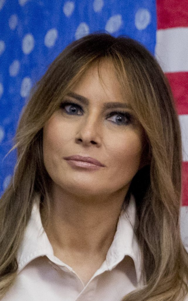 Melania Trump makes secret trip to visit injured service ...