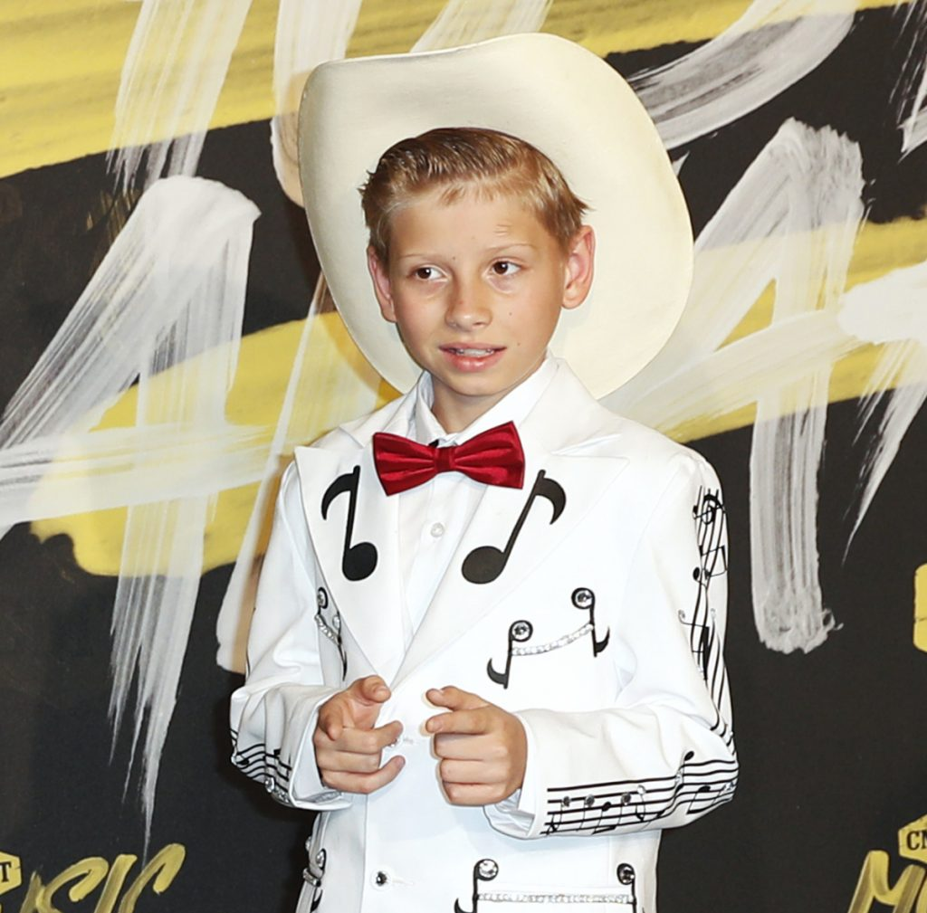 Eleven-year-old Mason Ramsey went viral online in a video of him singing and yodeling in a Walmart store.