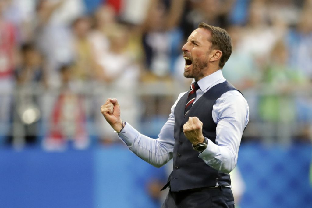 England Coach Gareth Southgate has had much to celebrate during his team's run at the World Cup in Russia, helping him  and the nation set aside memories of disappointment.