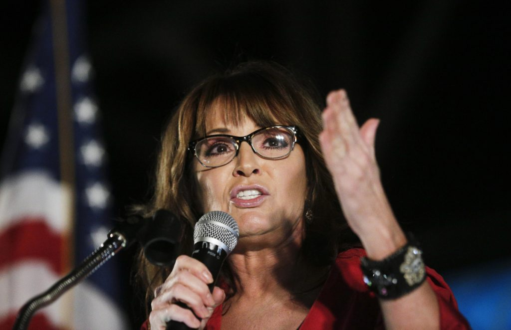 """Sarah Palin traveled across the U.S. for what she thought was a legitimate interview but turned out to be a """"truly sick"""" plot to make her look dumb."""
