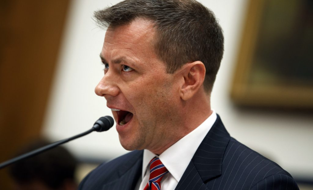 text messages sent by fbi agent peter strzok criticizing donald trump arent proof of anything except strzoks personal feelings and in committing them
