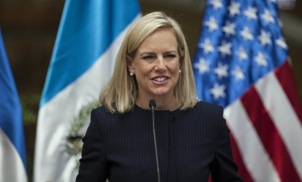 U.S. Homeland Security Secretary Kirstjen Nielsen says there are no indications Russia is focused on this year's midterm elections the way it targeted the 2016 presidential election.
