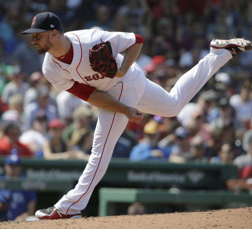 Tyler Thornburg, who was acquired by the Boston Red Sox following the 2016 season, finally is healthy and ready to be a force out of the bullpen.