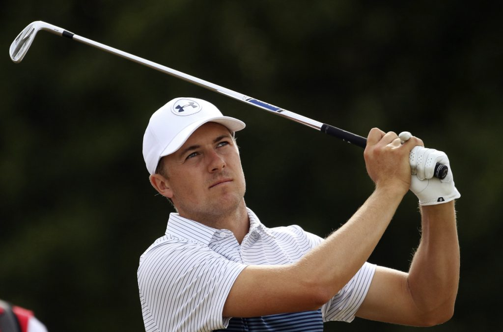 Jordan Spieth had a great final round at the Masters, but otherwise it's been a year of slumps for the golfer who will seek to become a British Open repeat winner this weekend.