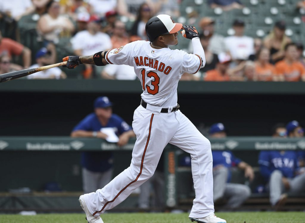 Orioles pull Manny Machado mid-game, sparking rampant speculation