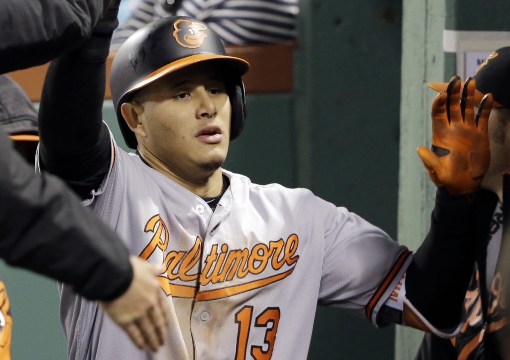 According to reports, Manny Machado was traded by the Orioles to the Dodgers for five players.