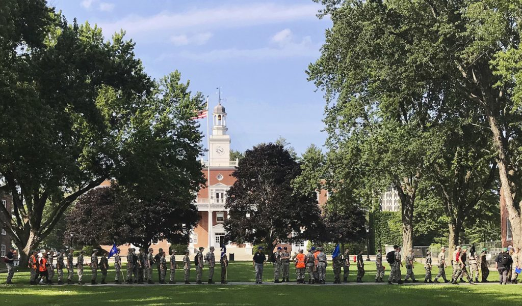 Norwich University in Northfield, Vt., has become the latest school to offer income share agreements, where colleges get a percentage of a student's future salary, in place of some loans.