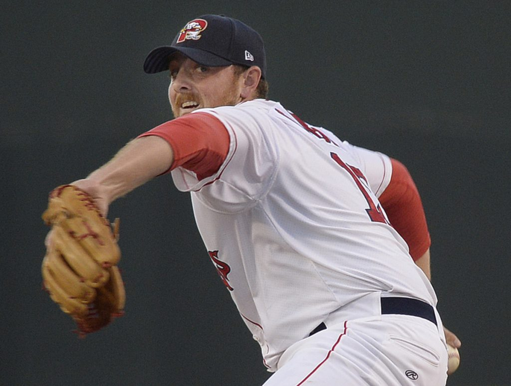Matt Gorst, between Class A and the Sea Dogs, has a 1.04 ERA – second among relievers in the Red Sox system this season.