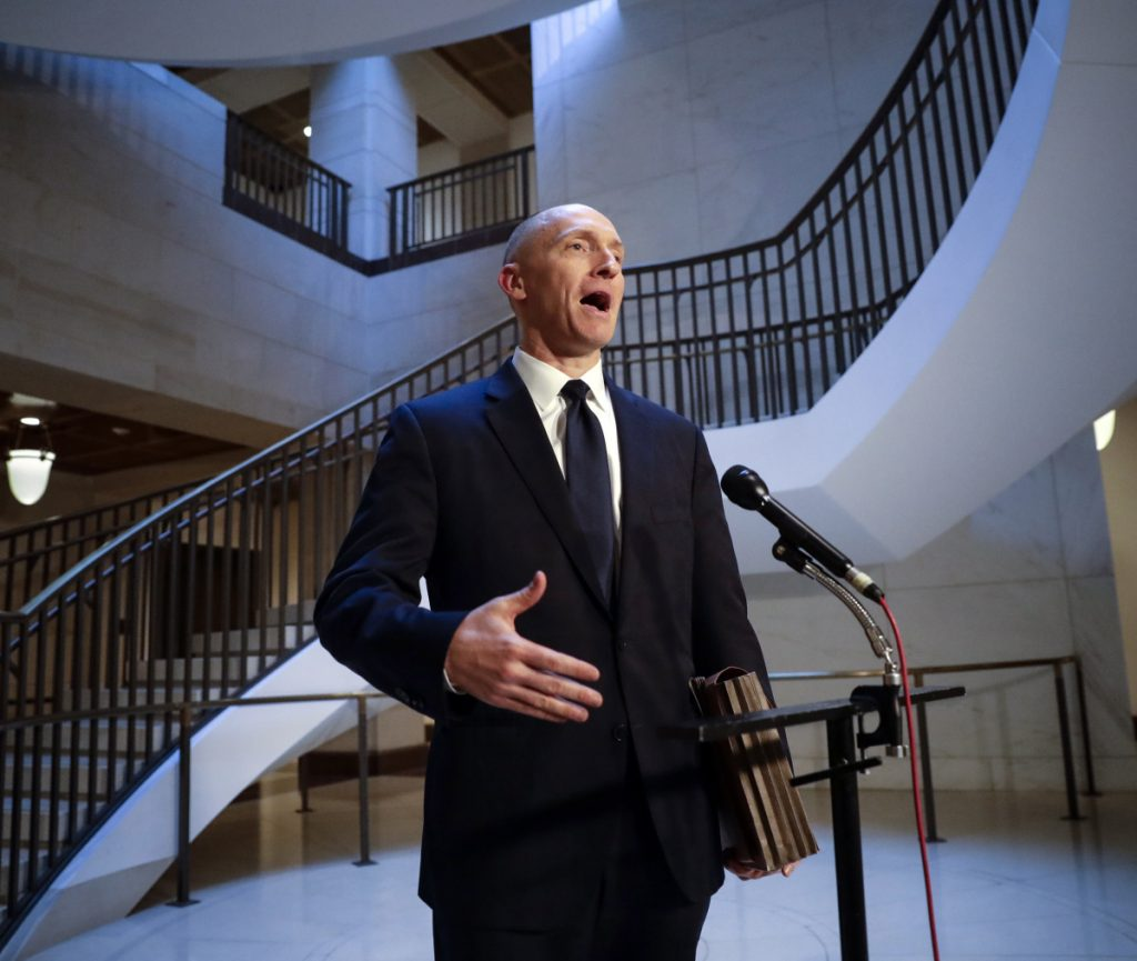"""Carter Page, a foreign policy adviser to Donald Trump's 2016 campaign, denied Sunday that he had been """"an agent of a foreign power by any stretch of the imagination."""""""
