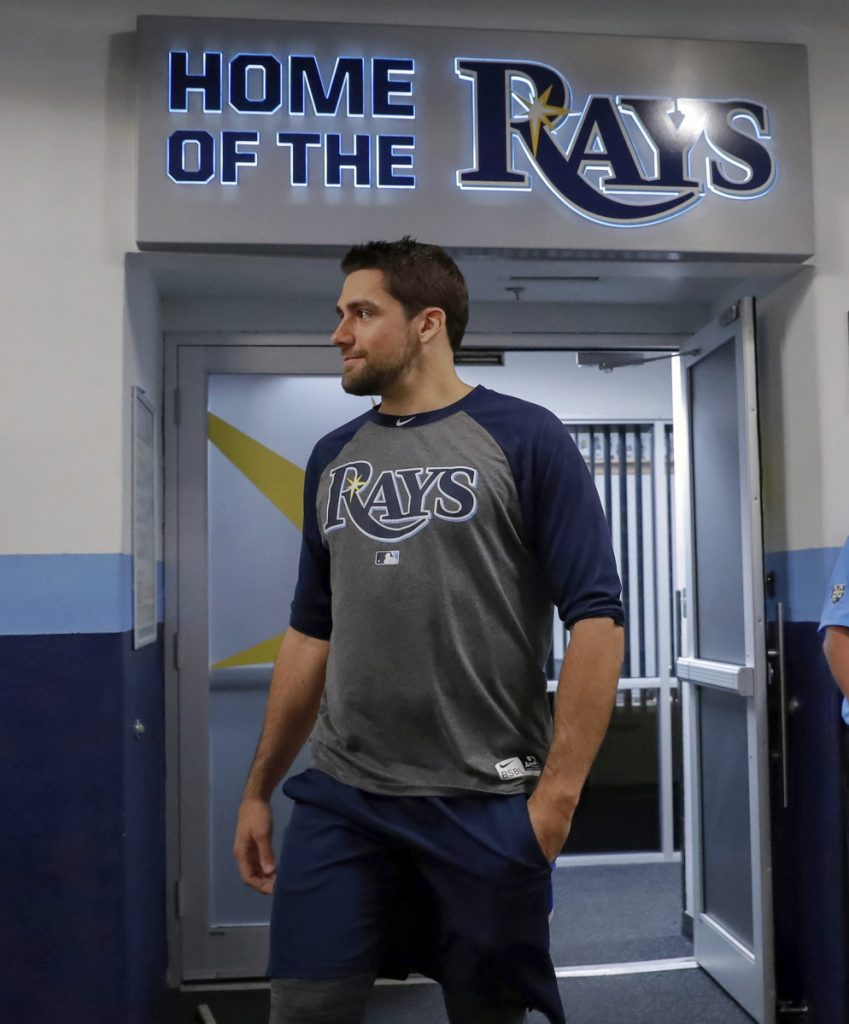 Red Sox acquire P Eovaldi from Rays