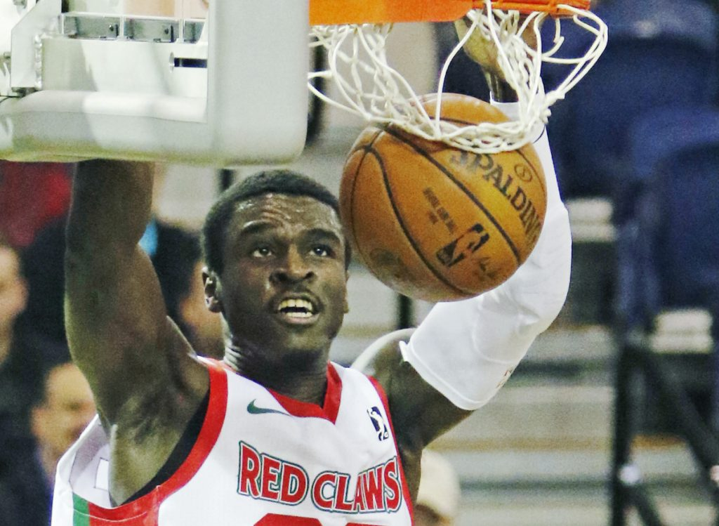 Jabari Bird played much of his rookie pro season last year with the Maine Red Claws, where, despite being a shooting guard, he often soared above the rim. Bird averaged 19.3 points and 5.8 rebounds for the Red Claws.