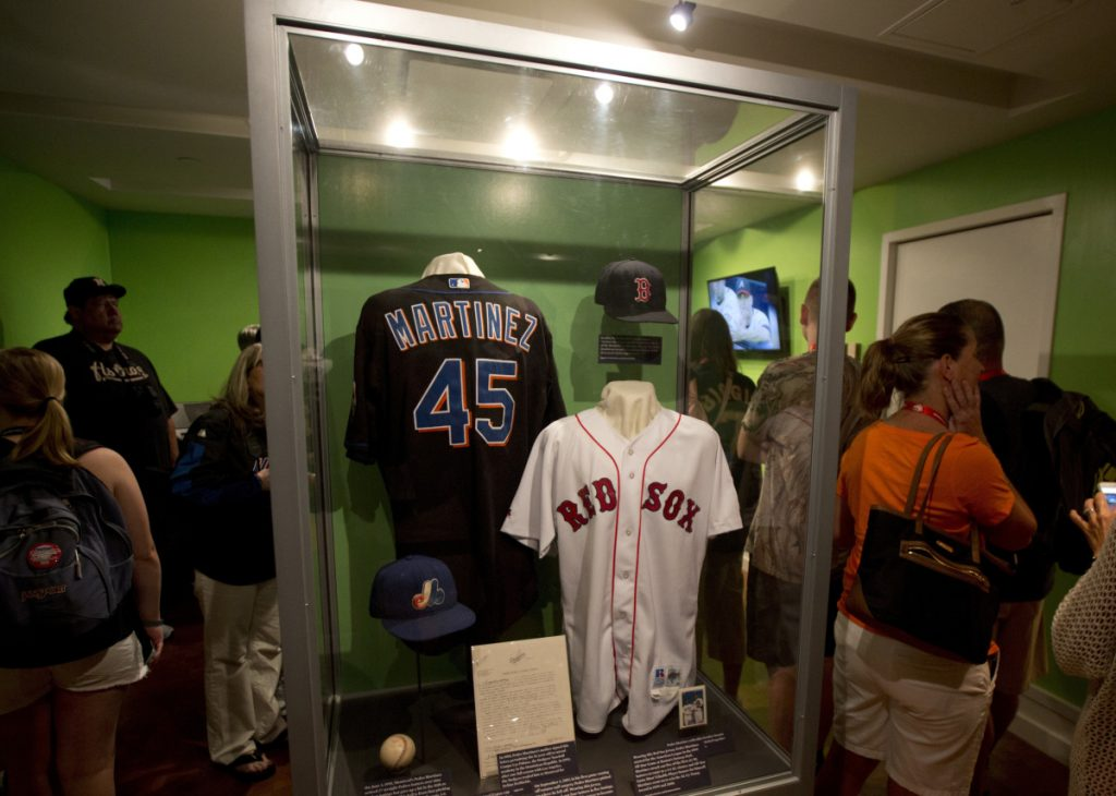 The Hall of Fame displays memories of baseball's great yesterdays, but also chronicles the way the game has changed over the decades.
