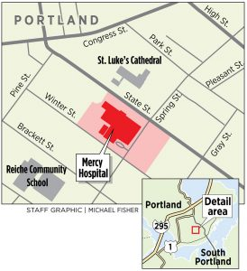 Mercy Hospital Campus Map.Before It Sells State Street Site Mercy Hospital Wants To Know How