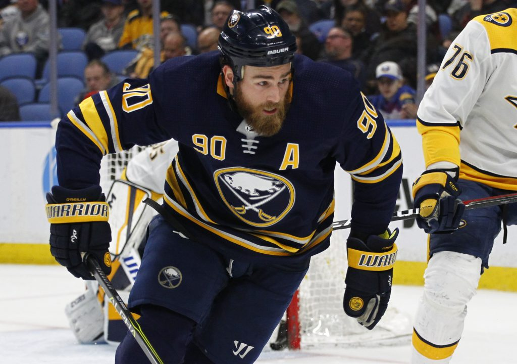 Ryan O'Reilly is heading to St. Louis and is excited to play again after missing the playoffs for three straight seasons with Buffalo.