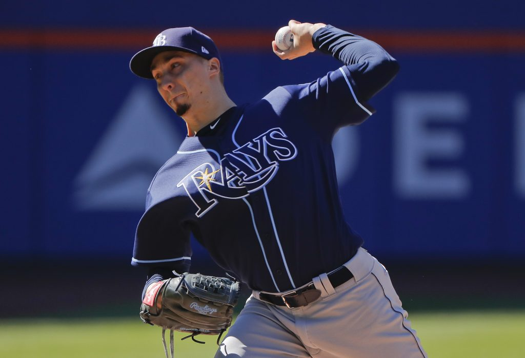 Tampa Bay Rays starting pitcher Blake Snell leads the American League with a 2.09 ERA but was left off the All-Star team when the rosters were announced Sunday night.
