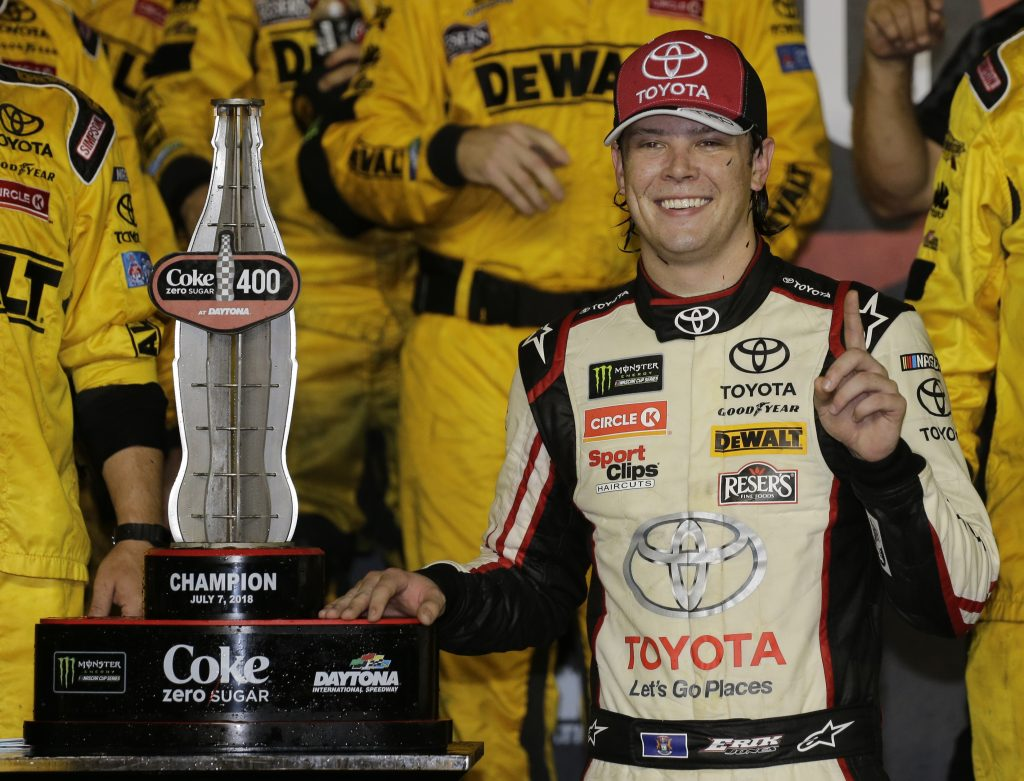 In a season dominated by Kyle Busch, Kevin Harvick and Martin Truex Jr., Erik Jones win at Daytona on Saturday night was a breathe of fresh air.