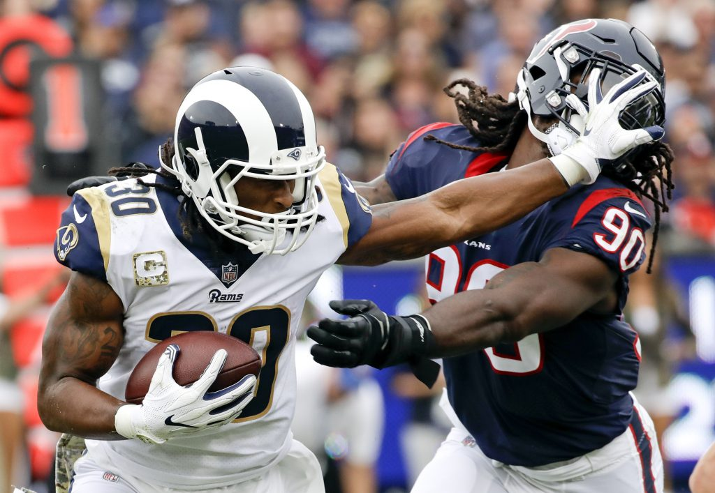 Todd Gurley has agreed to a lucrative contract extension with the Rams. Rams General Manager Les Snead confirmed the new deal Tuesday, July 24, 2018, for the NFL's offensive player of the year. The Rams didn't announce the terms of the deal, but ESPN says it's a four-year extension worth $60 million through 2023.