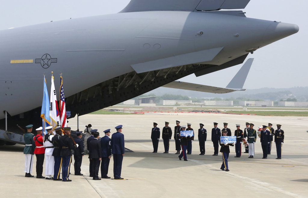 North Korea Will Transfer Remains Of US Soldiers Who Died In Korean War Friday