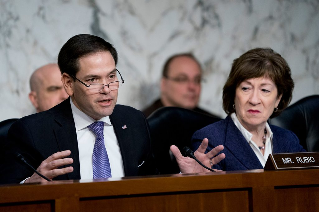 U.S.  senators push for sanctions against Russia, United States News & Top Stories