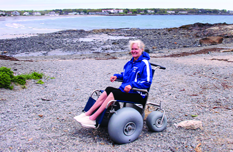 The Kennebunks Now Have Two New Beach Wheelchairs For Public Use One Chair Is Stationed At Narragansett Iniums Kennebunk Beaches