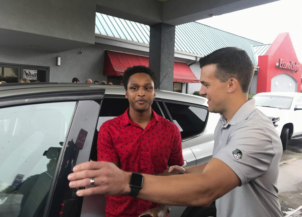 Man who walked 20 miles to work gifted CEO's personal auto
