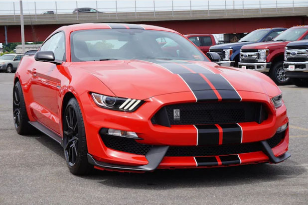 The Mustang Shelby GT350.