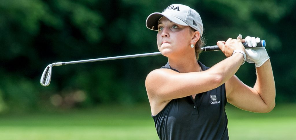 Rachel Smith was 2 under on the final nine holes Wednesday to capture the girls' title at the Maine Junior Championship at Brunswick Golf Club.