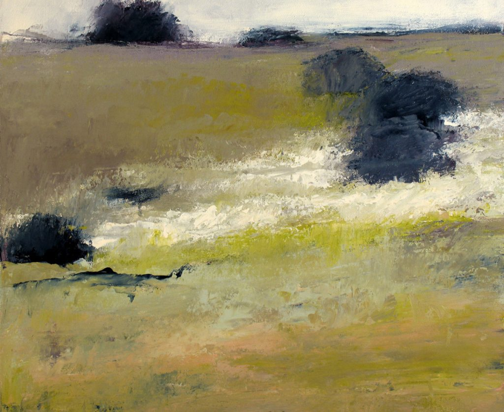 """""""Nantucket 4"""" by Irma Cerese is one of 51 new paintings showing at Landing Gallery in Rockland."""
