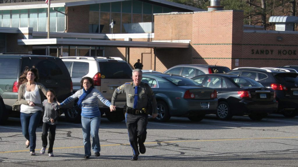 Although 26 people were shot to death at Sandy Hook Elementary School, there are still people who believe the whole event was staged by the government in an attempt to pass stricter gun control.