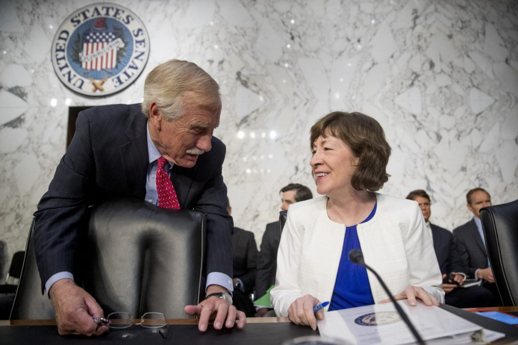 A Portland Press Herald story about Russian trolling targeting Maine Sens. Angus King and Susan Collins sparked suspicions among commenters about each other.