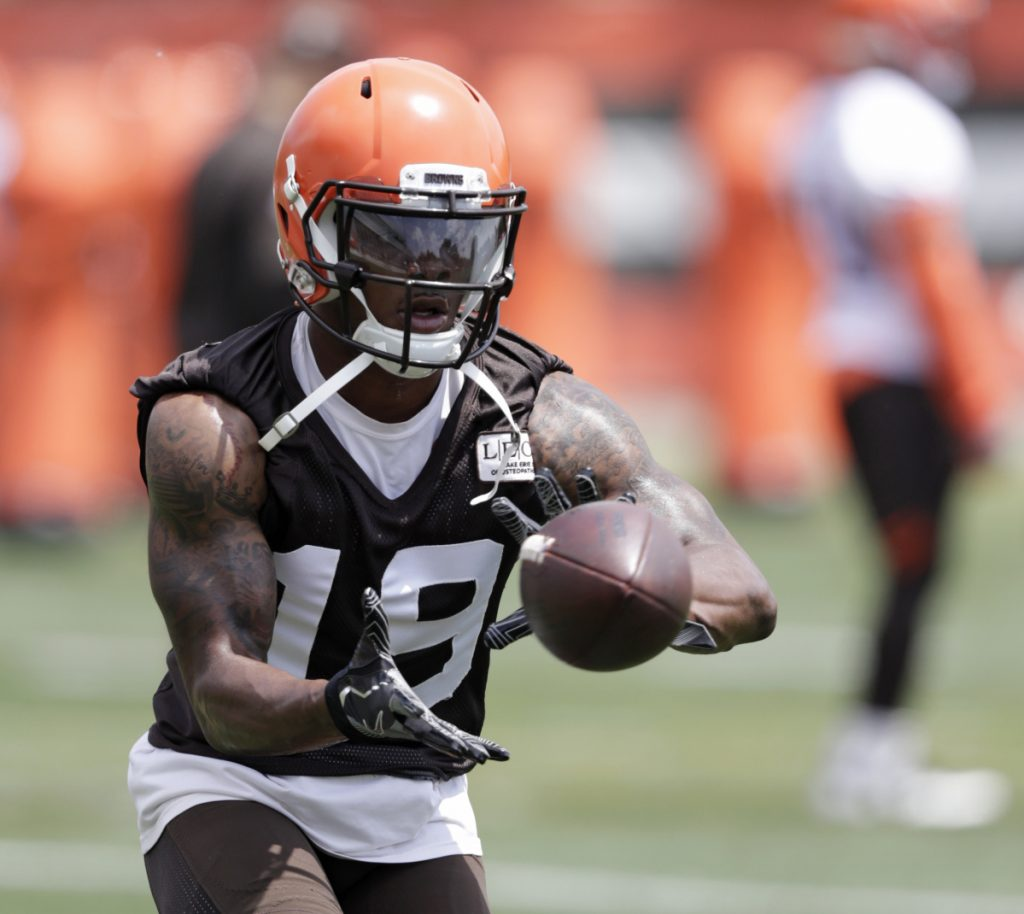Wide receiver Corey Coleman struggled during two seasons in Cleveland, so now he'll get a chance in a different uniform following a trade with the Buffalo Bills.
