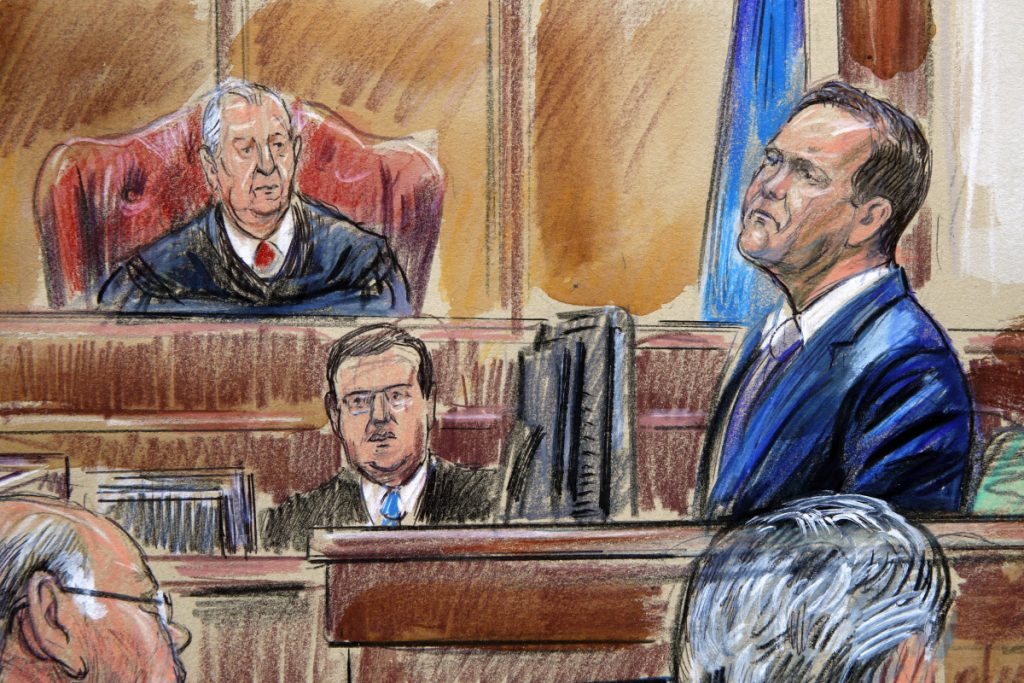 Rick Gates, testifying in Manafort trial, admits to affair, London apartment