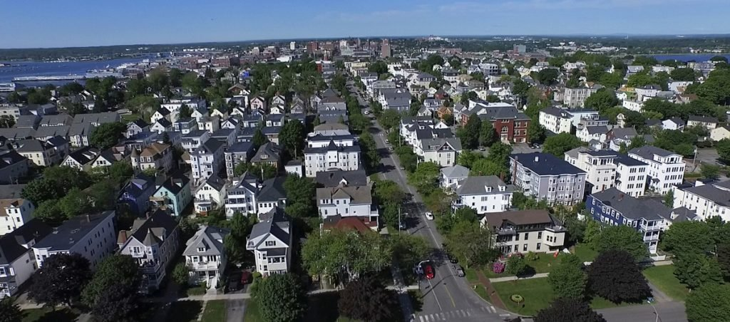 As the real estate market has heated up in neighborhoods like Portland's Munjoy Hill, which used to be affordable for the working class, the public sector has retreated from its responsibility to supply affordable housing.