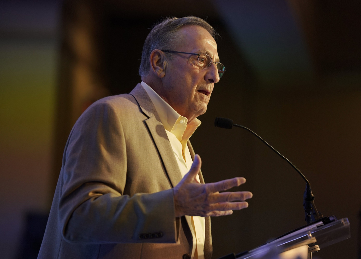 "Gov. Paul LePage was released from the hospital Monday after experiencing what his spokesman described as ""discomfort."""