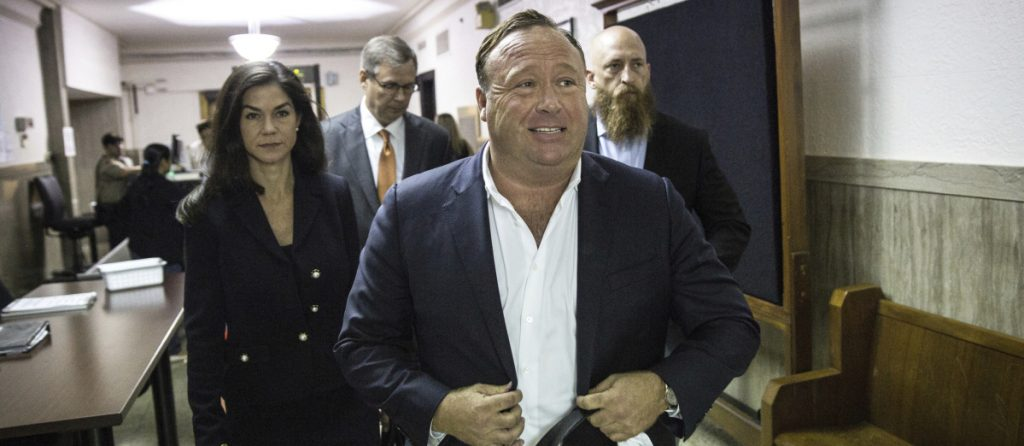 Millions of people believe that Alex Jones' fact-free stories about evil doers at the highest levels of government are the truth. Shutting down some of his social media accounts will not be enough.