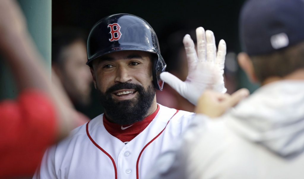 Boston catcher Sandy Leon is a leader in the Red Sox clubhouse, and when he starts the Red Sox usually win. His 3.46 catcher ERA since 2016 is the best in the majors for a catcher with at least 150 starts.