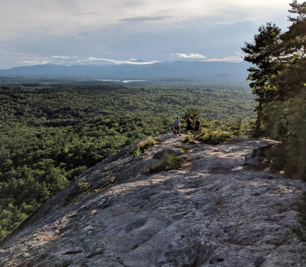 Sabattus Mountain isn't the most arduous peak to reach, and once there, well, the view speaks for itself. Turn one way, and there's Maine. Turn the another, and there's New Hampshire. There's just no way that a hiker can go wrong. And it's less than two hours from Portland.