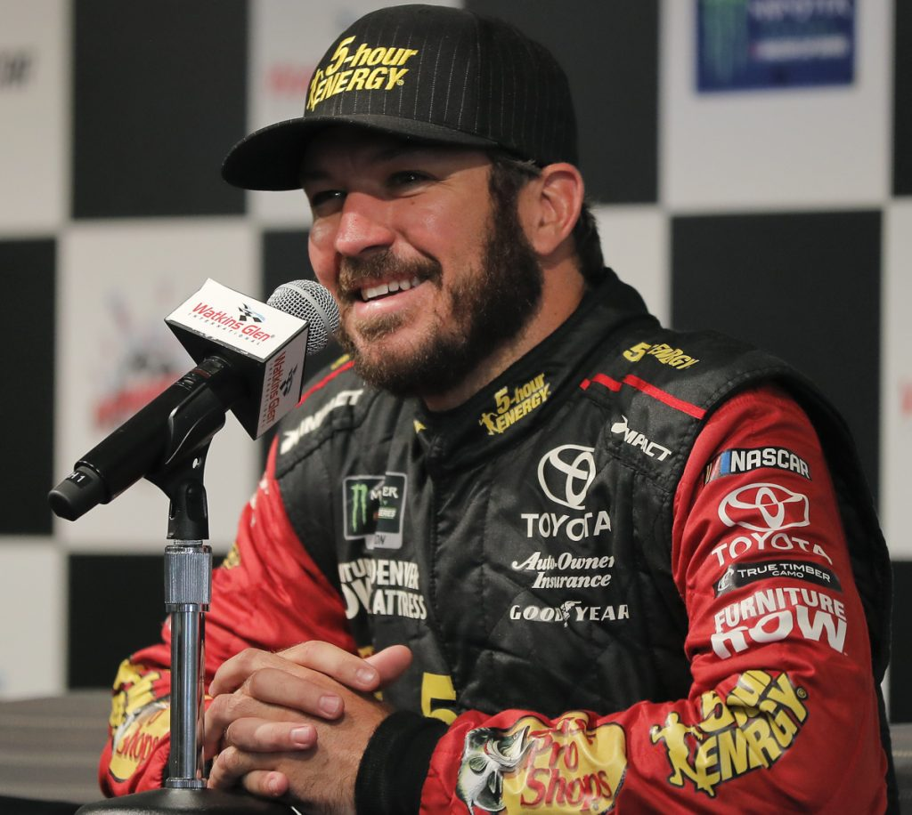 Martin Truex Jr. has won four races this season, part of a dominant trio of drivers who have lapped the competition.