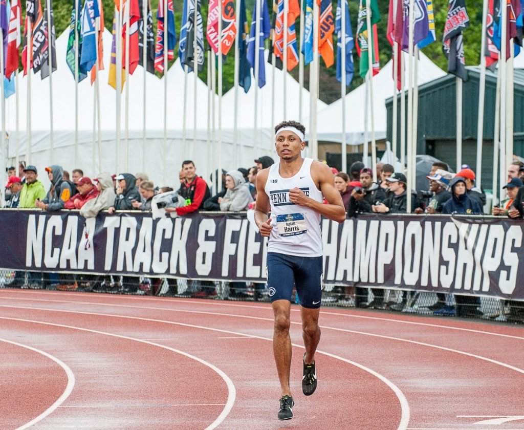 Isaiah Harris capped three standout years at Penn State by winning his first NCAA championship in June, then turned pro two weeks later, passing up his last year of eligibility.